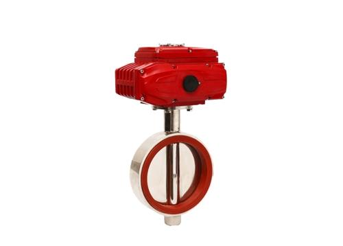 电动卫生级焊接蝶阀