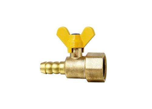 黄铜安全式外螺纹接管手动燃气球阀RQ-9.5JY