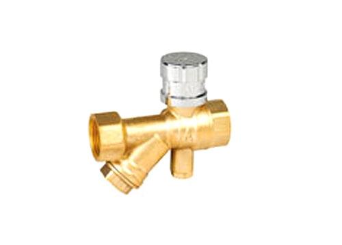 黄铜/青铜磁性带锁测温过滤器内螺纹手动球阀Q11F-10/16/20/25/40/64/100/160T