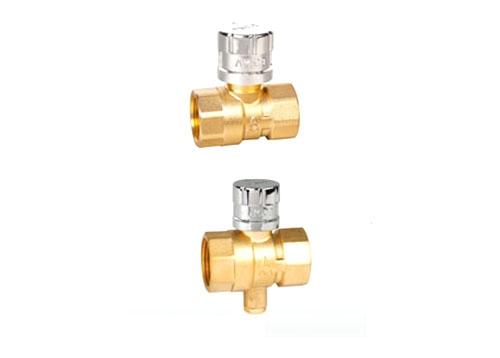 黄铜/青铜磁性带锁测温内螺纹手动球阀Q11F-10/16/20/25/40/64/100/160T