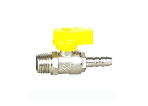 黄铜/青铜外螺纹接管手动燃气球阀QR21F-10/16/20/25/40/64/100/160T
